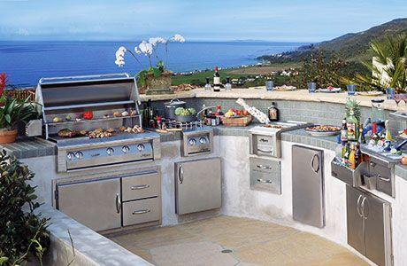 Top 5 Outdoor Kitchens Outdoor Kitchen Packages Bbq Guys Asadores De Patio Cocina Exterior Cocinas