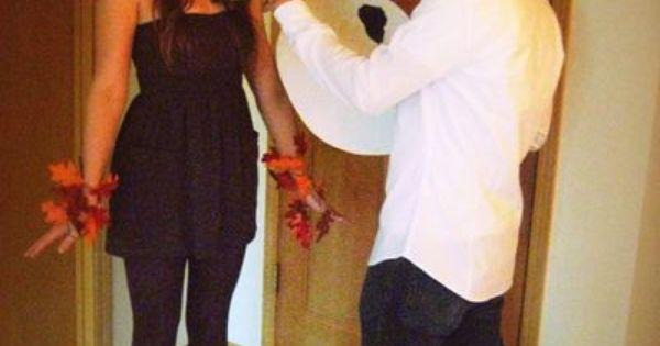 BobRoss & HappyTree... couples costume idea