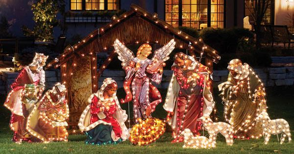 Outdoor christmas christmas yard decorations and christmas yard on