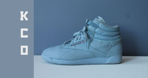90 s Shoes Reebok High Tops Tennis Shoes Light Blue Baby