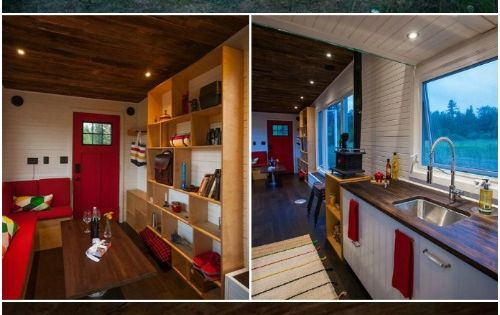 Wow! This Canadian Tiny House Has Its Own Drawbridge {12 Photos}  This place is the ...