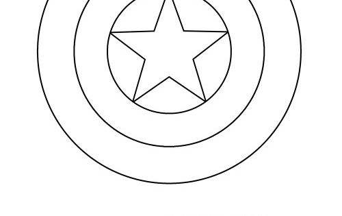 Unforgettable image pertaining to captain america shield printable
