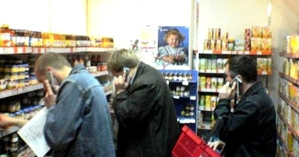 Men in the Baby Food Department, lol!! ;) Frm bf: Funny Stuff