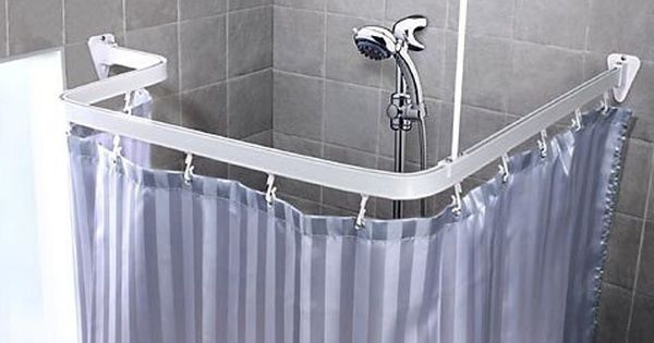 Bendable Shower Curtain Rod Shower Curtain Rods Shower Curtain