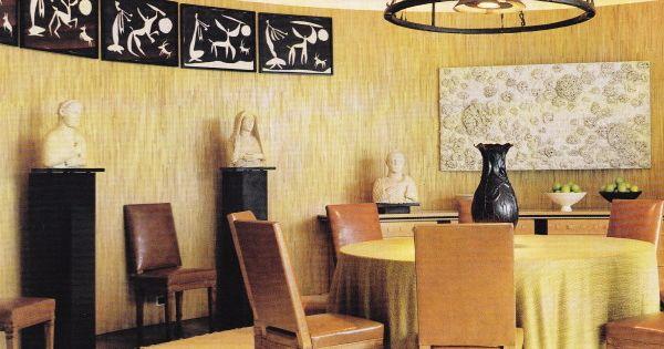 Dining Room Villa Nara Mondadori Peter Marino Luxe