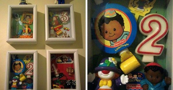 Birthday Shadow BOXES YESSS!!!! :) Love this Idea to keep all memories