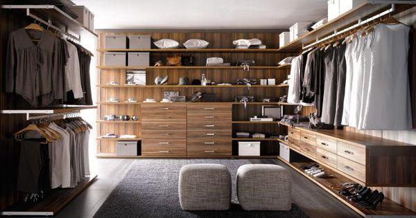 Omg omg quiero este closet abierto vestidores for Closet modernos con zapatera
