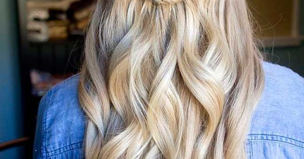 24 Chic Half Up Half Down Bridesmaid Hairstyles