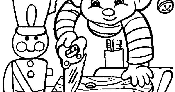 Free #Christmas Coloring Pages - Elf in Santa's workshop ...