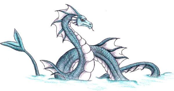 sea serpent dragon serpent dragon by caedus6685 misc