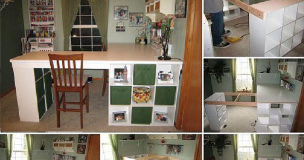 comment fabriquer une surface de travail pour un atelier idees couture pinterest comment. Black Bedroom Furniture Sets. Home Design Ideas