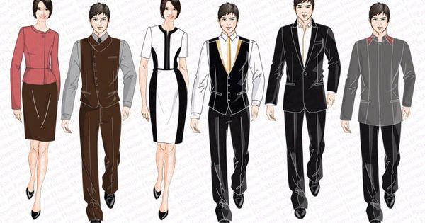 Hotel uniform country club concierge uniform design for Spa uniform france