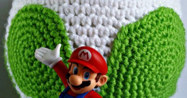 Free Yoshi Egg Crochet Pattern : Yoshi Egg Amigurumi Crochet Pattern PDF/ Yoshis New ...