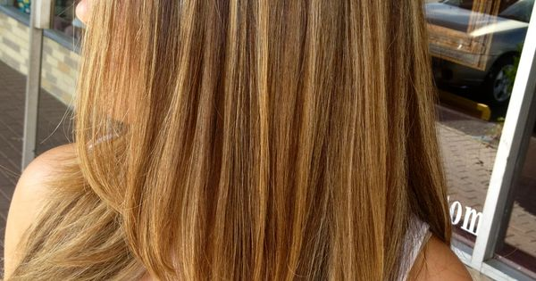 Blonde Highlights With A Natural Low Light Hair Pinterest