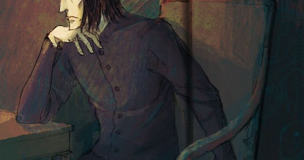 A Page From My Sketchbook Severus Snape Snape Fan Art Snape