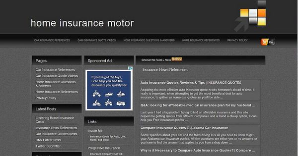 Home Insurance Motor News Car Insurance Home Insurance Auto