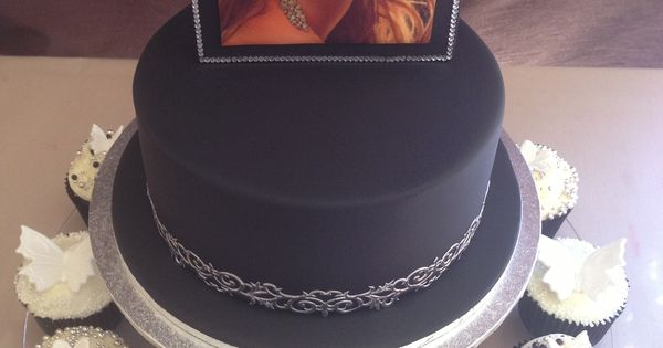 Mariah Carey Inspired Birthday Cake And Cupcakes Ordering