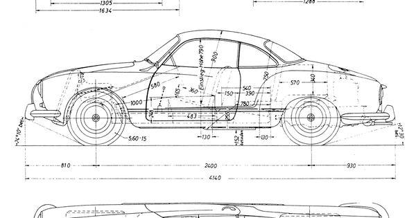 karmann ghia blueprint