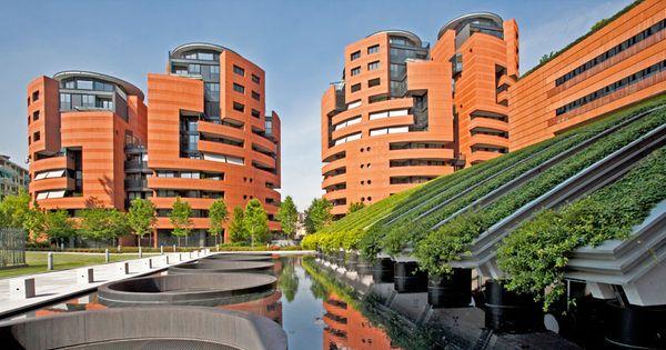 Verde pensile riflesso nell 39 acqua architettura verde for Architettura verde