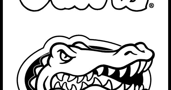 Florida Gators Coloring Page | It's GREAT to be a FLORIDA ...