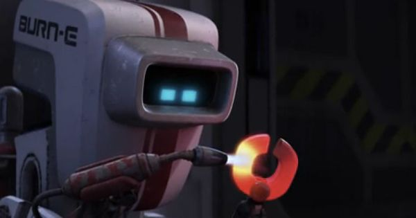Remember This Guy From Wall E Burn E Pixar Animated Short Film Short Film Pixar Burns