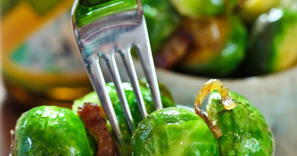 Braised Brussels Sprouts with Bacon and Beer- yum!