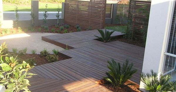 possible outdoor deck idea for landscaping