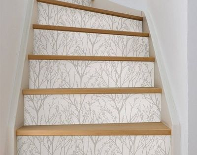 Treetops Peel Stick Wallpaper Brewster Silver Peel And Stick Wallpaper Nuwallpaper Self Adhesive Wallpaper