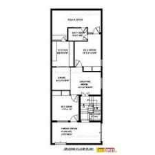 Image Result For House Plan 20 X 50 Sq Ft House Map New House Plans Indian House Plans
