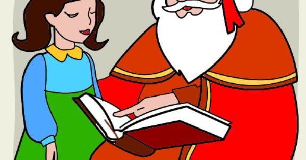 Sinterklaas Leest Voor Sinterklaas Kleurenisleuk Nl