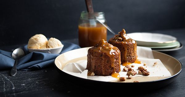 Sticky Date Cake with Butterscotch Sauce Recipe