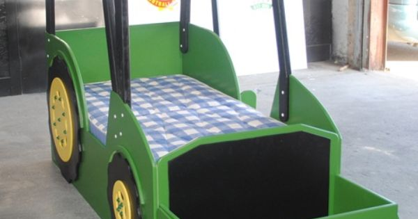John Deere Tractor Playhouse Plans : John deere tractor bed plans imgkid the image