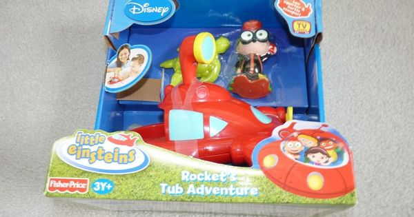 disney little einsteins fisher price bathtub toy rocket 39 s tub adventure new. Black Bedroom Furniture Sets. Home Design Ideas