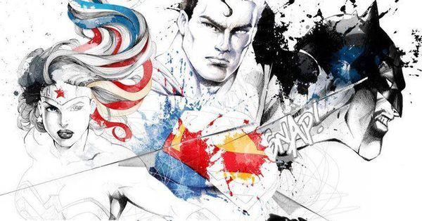 O mundo pop ilustrado por David Despau | Heróis, Super ...