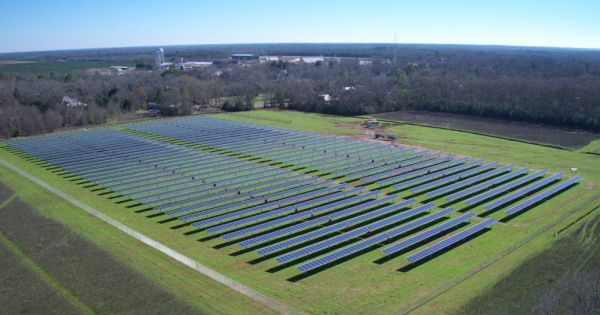 Jimmy Carter Leased 10 Acres Of Land To Build A Solar Farm With The Capacity To Meet More Than 50 Percent Of The Energy Needs Solar Farm Solar Energy Diy Solar