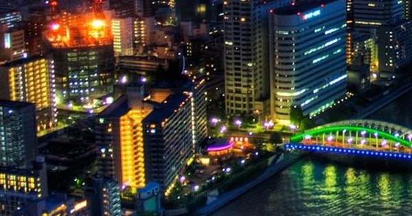 japan tokyo skyscrapers bridge - photo #26