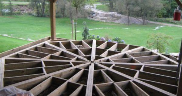 Octagon Frame Jpg Oxford County Decks Reno S Timber Deck Building A Deck Deck Framing