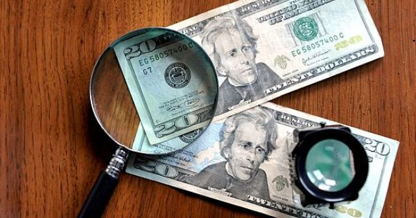 how to tell counterfeit us money