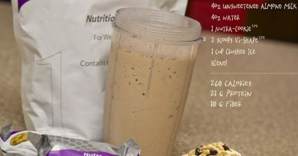 Chocolate Chip Cookie Vi Shake Recipe