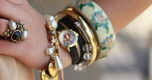 Love To Mix And Stack Bracelets Lovely Jewellery Fashion Jewelry Accessories