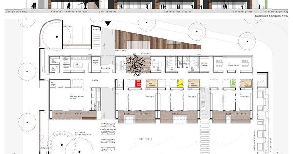 Kindertagesst tten by raum z architekten frankfurt for Design studium frankfurt