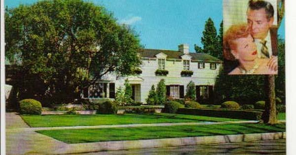 Lucielle Ball And Desi Arnaz S House At 1000 N Roxbury Dr