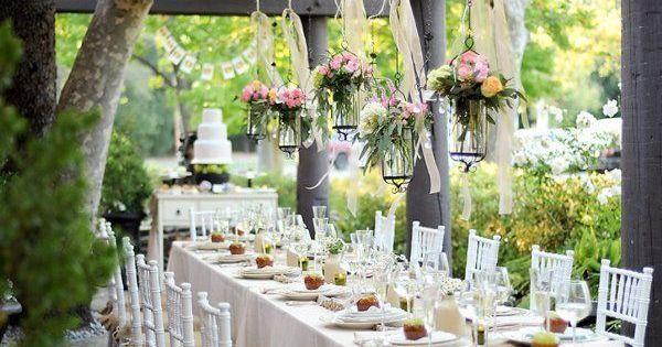 garden themed wedding reception ideas Google Search Table