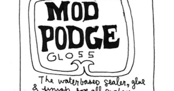 Mod Podge formula guide. Explains what types of ModPodge to use for