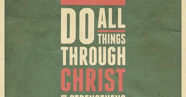 Philippians 4: 13