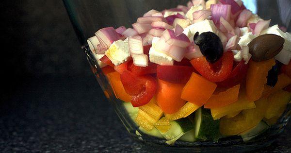 Mediterranean Pepper Salad Stuffed Peppers Smitten Kitchen Recipes Smitten Kitchen