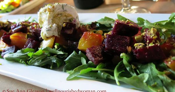 ... free Soups & Salads   Pinterest   Roasted Beets, Beets and Goat Cheese