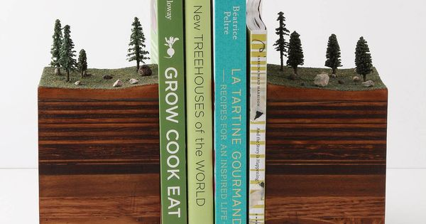 DIY Ideas // Diorama bookend