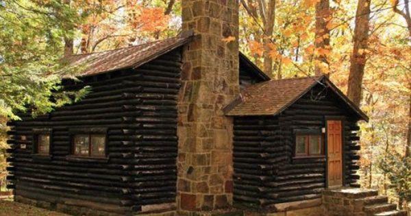 At Lands End Backyard Cabin Beautiful Cabins Cabin Life