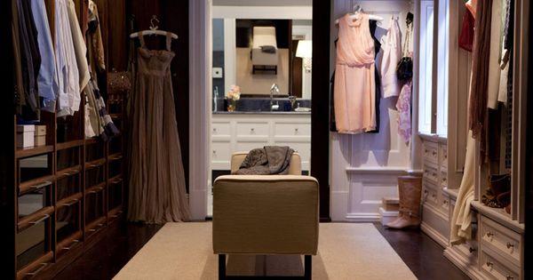 Carrie and Big's closet- dream closet